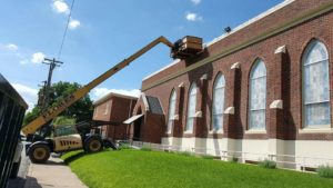 Flores Roofing - Waco, Texas Church Roofing Project