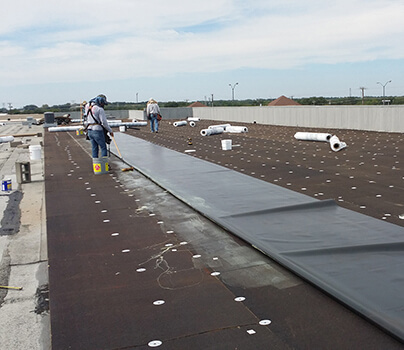 Flores Roofing & Construction - Waco Commercial Roofing